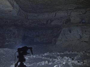 Фонарь Fenix HP25, в режиме рассееного света, в турбо режиме светит так