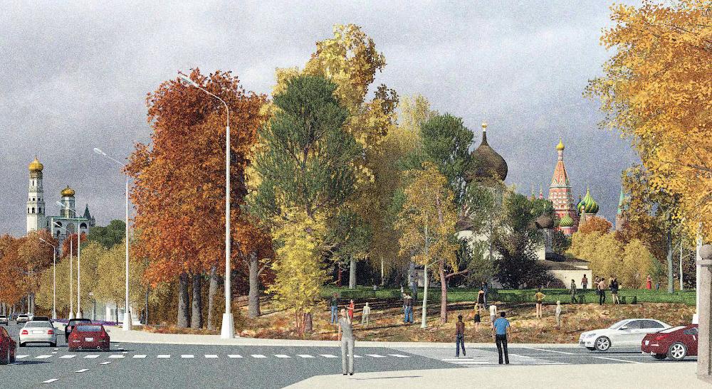 Концепция парка Зарядье