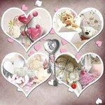 «A woman in love by Cajoline-Scrap» 0_7f7e8_f1b9e45b_S
