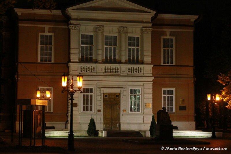Радищевский музей, Саратов, 28 октября 2013 года
