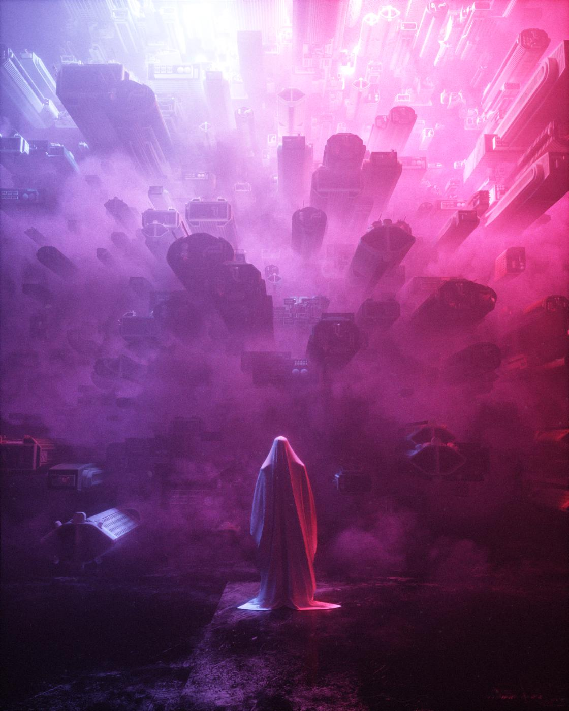 Dark Future – The striking and futuristic illustrations by Stuart Lippincott