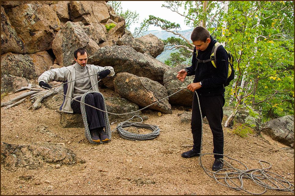 Бухтуем верёвки