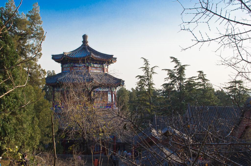 А это - то же здание, но снятое сверху. Достопримечательности Пекина