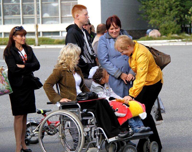 Юбилей общества инвалидов