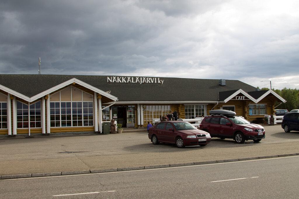 Сувенирный магазин в Финляндии