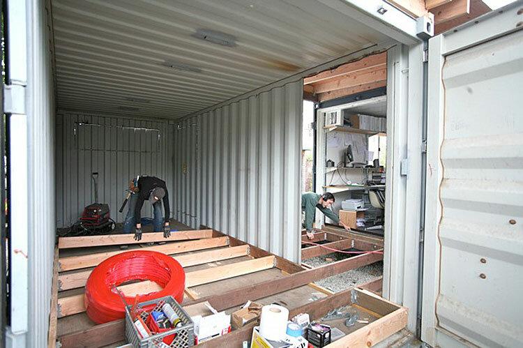 Дома из контейнеров своими руками