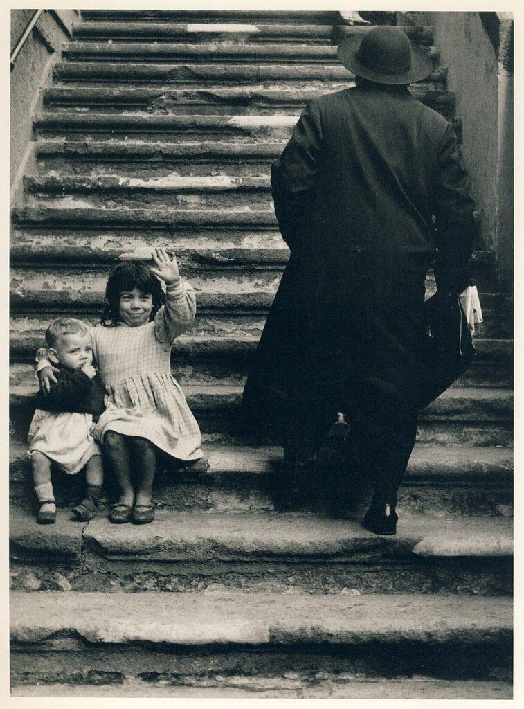Stairs to Maria della Catena Church, Naples, 1961
