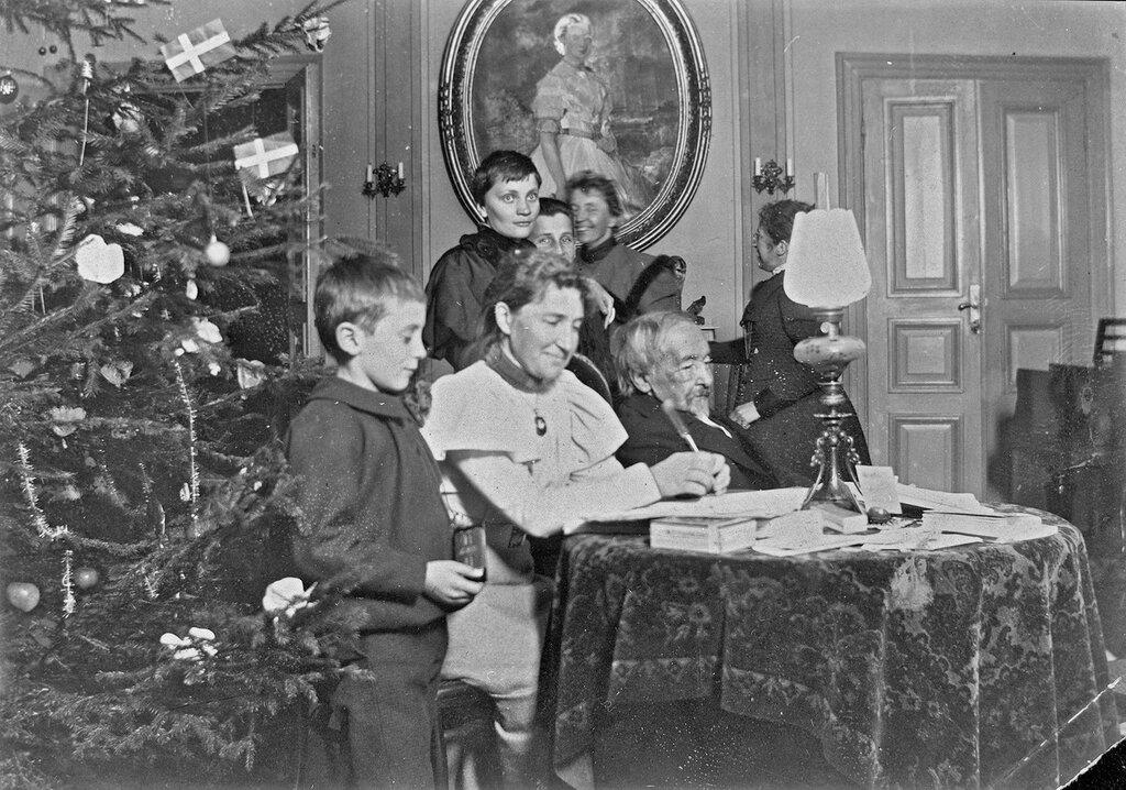 Захария Топелиуса, Рождество 1897