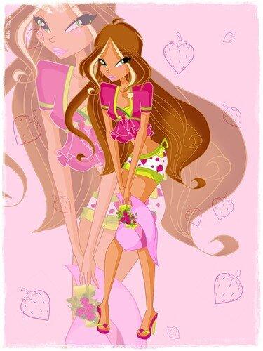 Игра для девочек винкс, создайте стильное колье настроения!