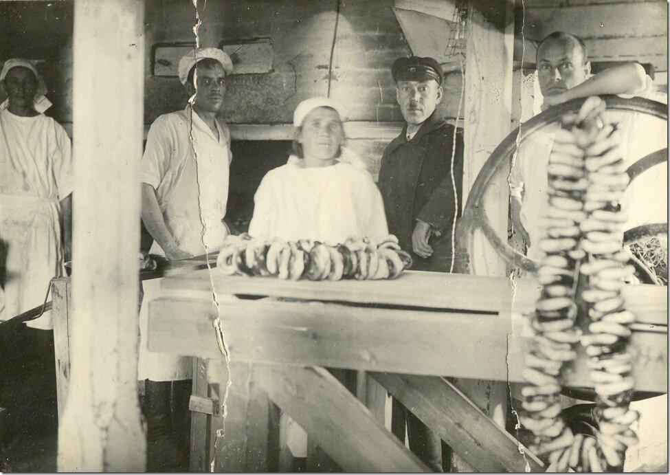 1920-е. Крендельная Обьтреста в г. Обдорске