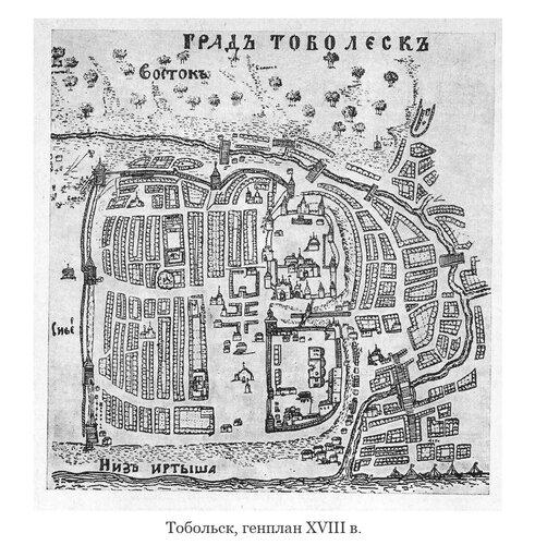 Генплан Тобольска 18 века