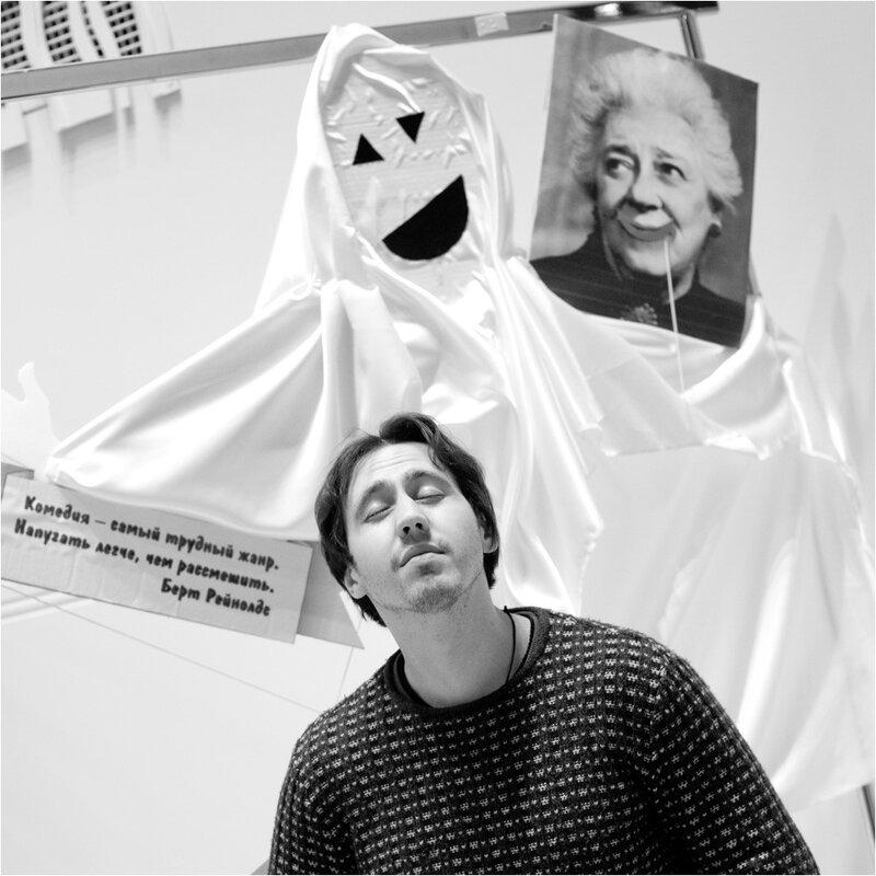 Игорь Растеряев. черно-белые портреты. фотограф Кузьмин