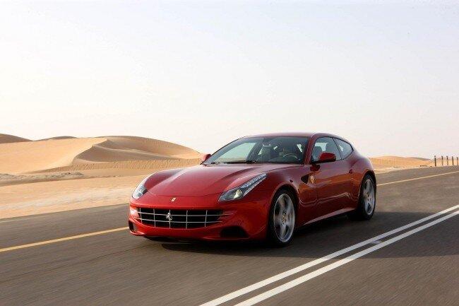 Ferrari FF стал первым полноприводным суперкаром Феррари