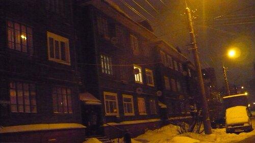 В Архангельске. Красивый деревянный дом