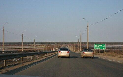 М2 на подъезде к Оке с юга.
