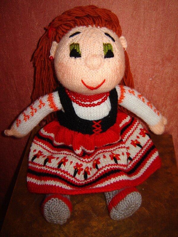 Красивая кукла своими руками мастер класс фото 86