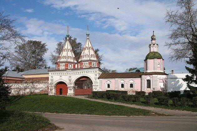 Ризоположенский монастырь. Суздаль