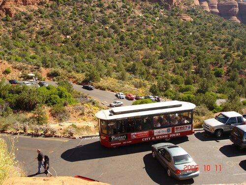 Аризона. Туристический автобусик.