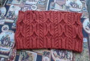 Узоры спицами на толстую пряжу для вязания 68
