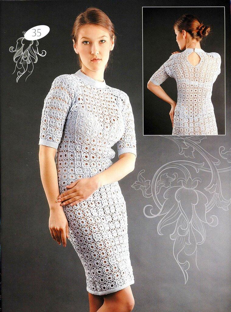 Ажурные платья