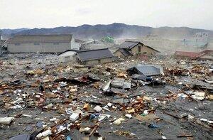 В Японии в результате стихийного бедствия уничтожено 5 тыс. 700 зданий