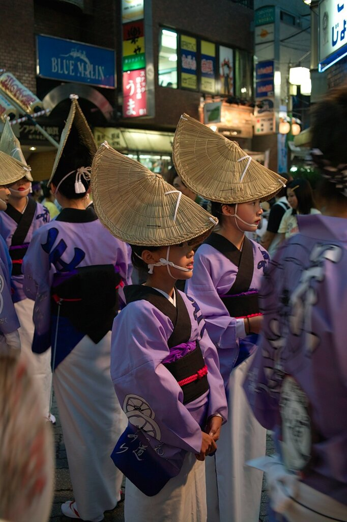 Traditional festive headgear from Tokushima, Japan by mainger