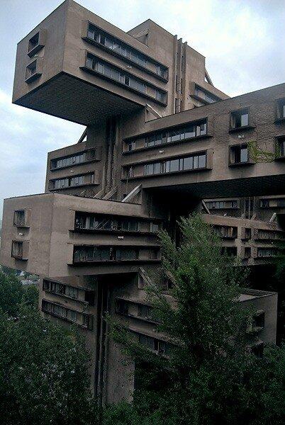 здание Министерства автомобильных дорог Грузии
