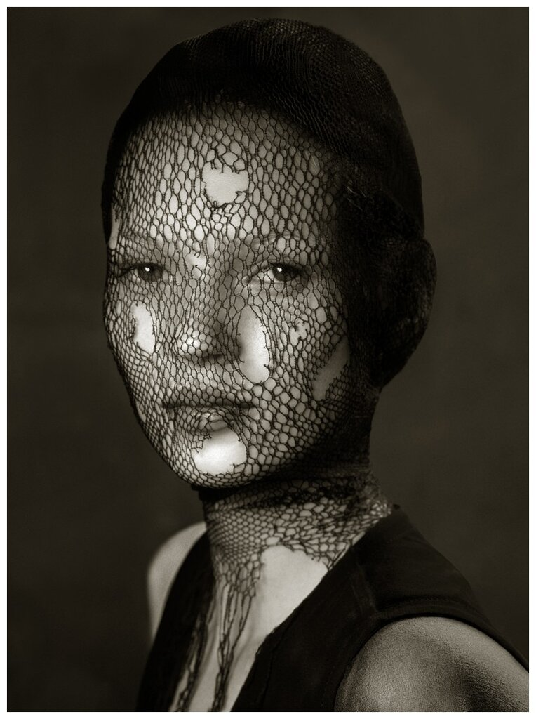Photography by Albert Watson.young Kate Moss