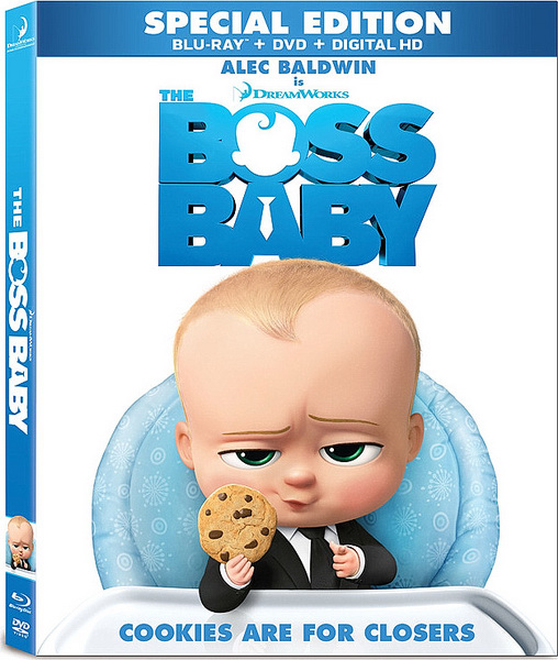 Босс-молокосос / The Boss Baby (2017/BDRip/HDRip) + 3D