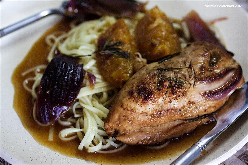 Рецепт куриных грудок на косточке