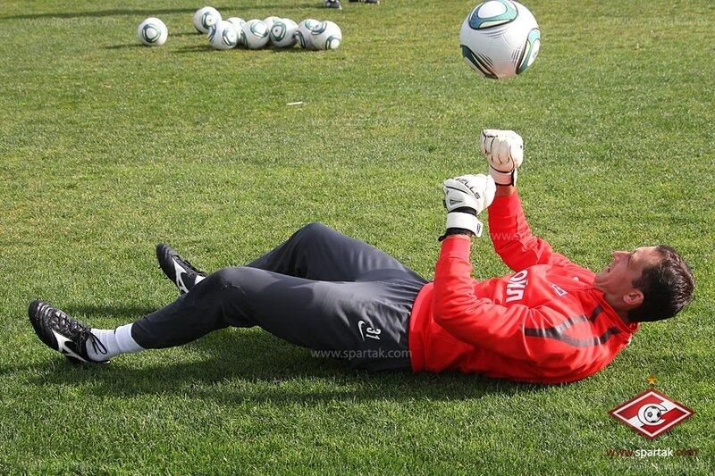 Тренировочный день «Спартака» в Испании (Фото)