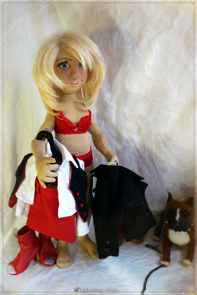 Портретная куколка по фото Ириша.  Подарок на день рождения!!!, Портретная текстильная кукла, кукла с портретным сходством, кукла по фото, шарж кукла, объёмное лицо куклы, текстильная скульптура, подарок