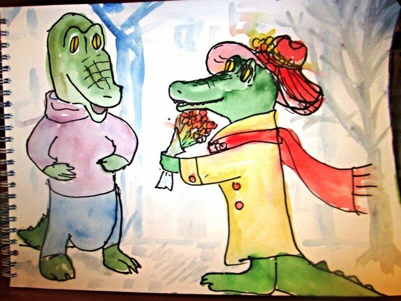 крокодилье свидание