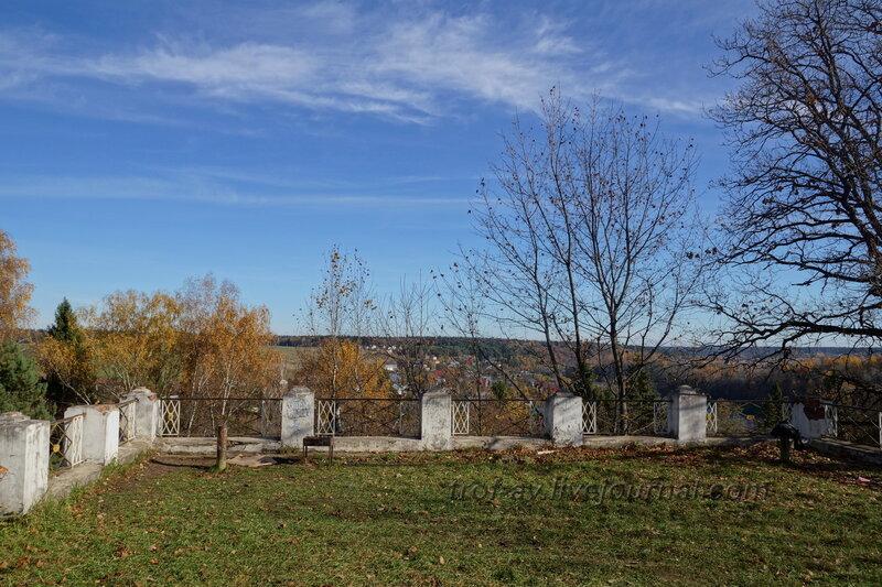 Терасса за домом, Усадьба Любвино, Тучково