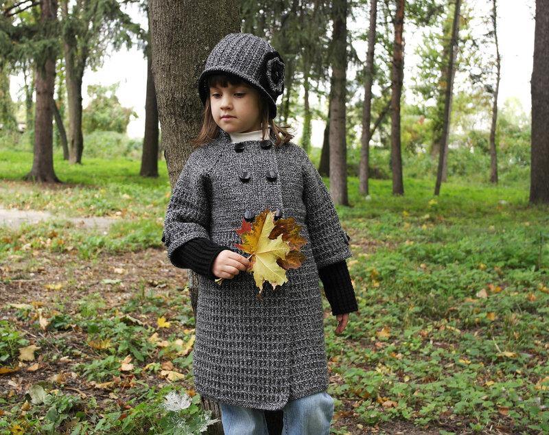 Осеннее вязание для девочки 49