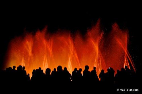 египет, танцующие фонтаны