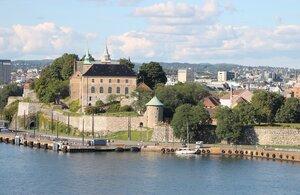 Oslo. Осло. крепость Акерсхус, Akershus Festning, Akershus slott