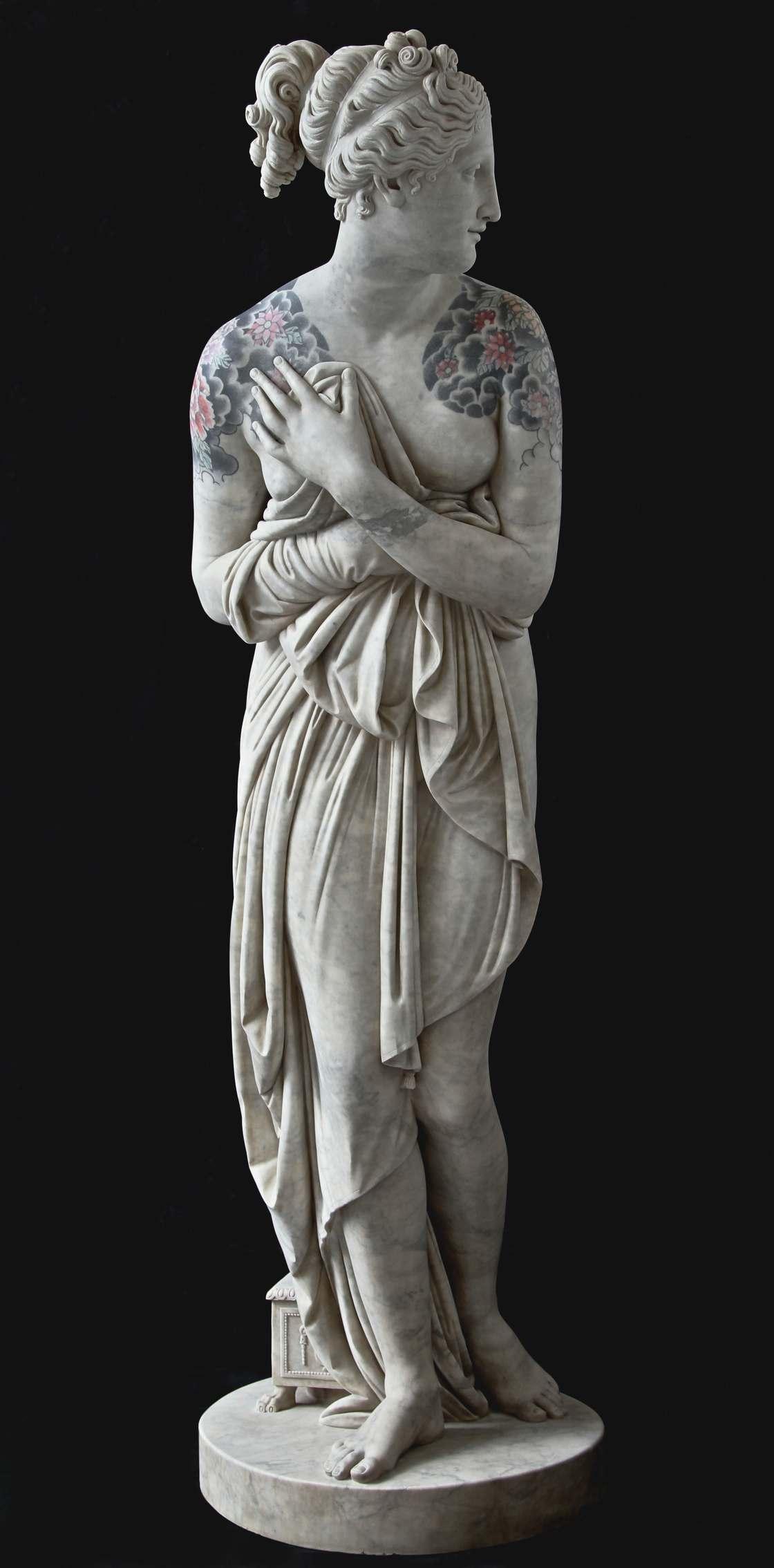 Les statues tatouees de Fabio Viale