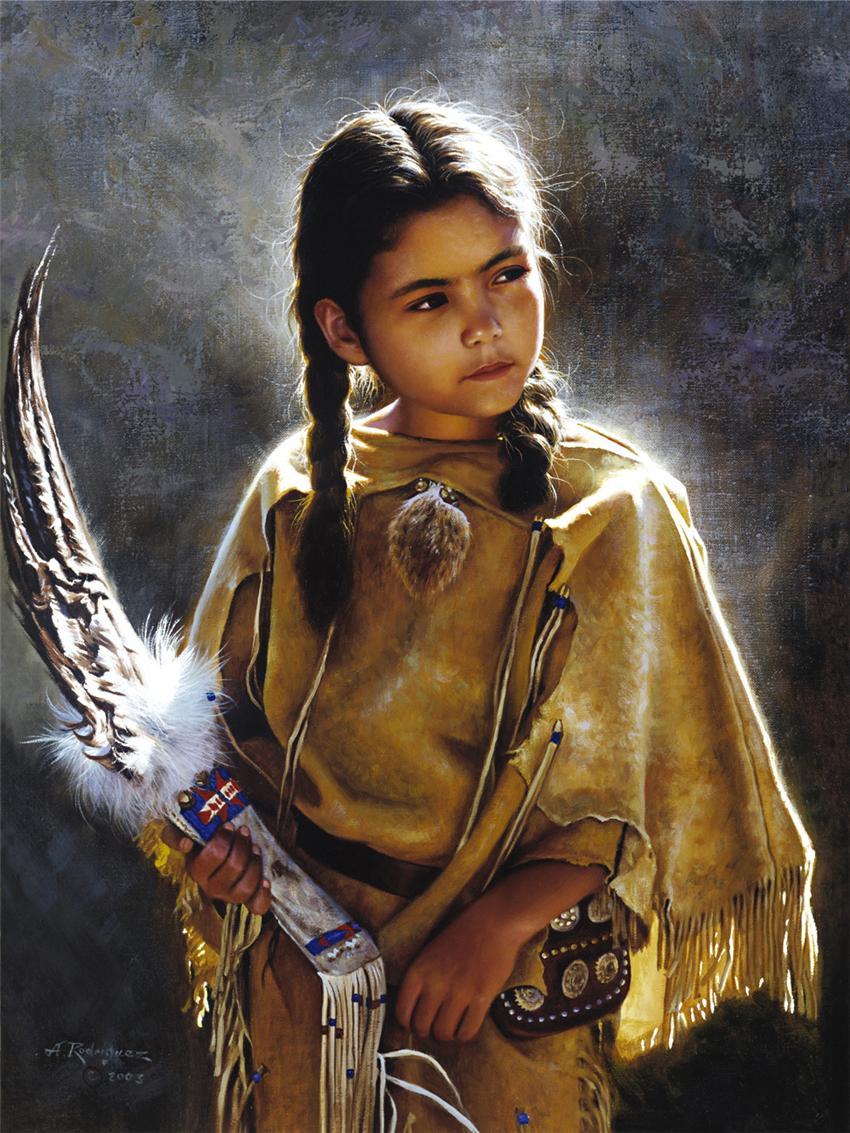 Индейцы племен сиу и навахо (63 работ) .