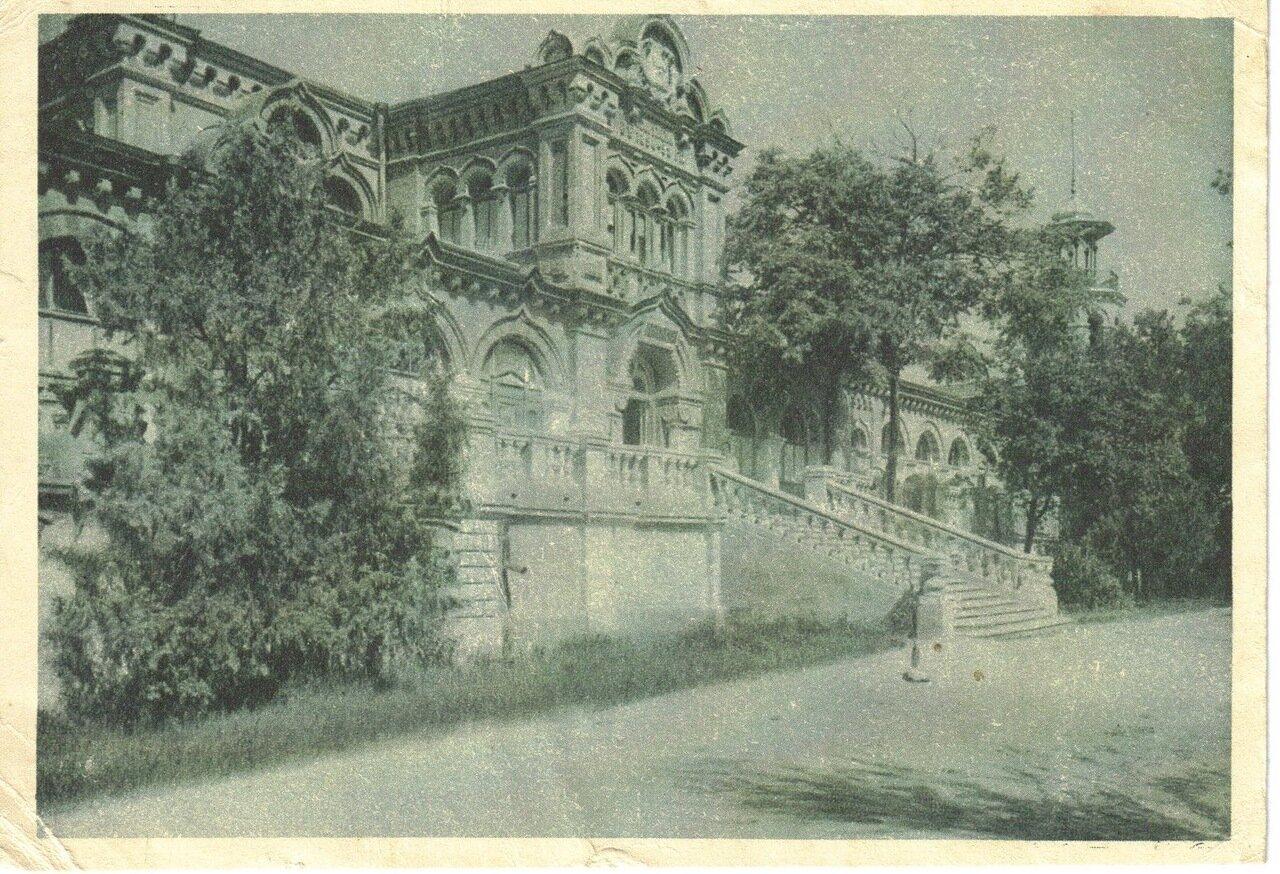 Лиман. Куяльницкий курорт. Поликлиника при грязелечебнице. 1931 г.