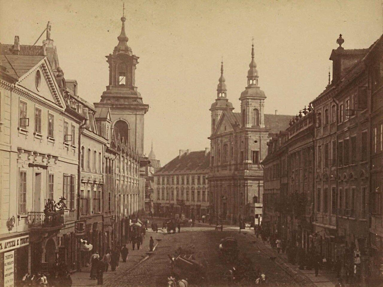 1865. Церковь Св. Духа и Доминиканский монастырь