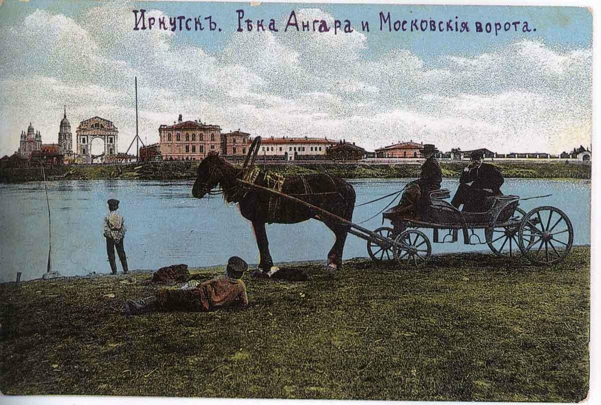 Ангара и Московские ворота