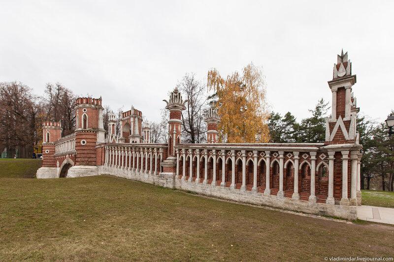 Фигурные Ворота в Царицыно - объектив Canon EF 16-35 mm F/2.8 L II USM