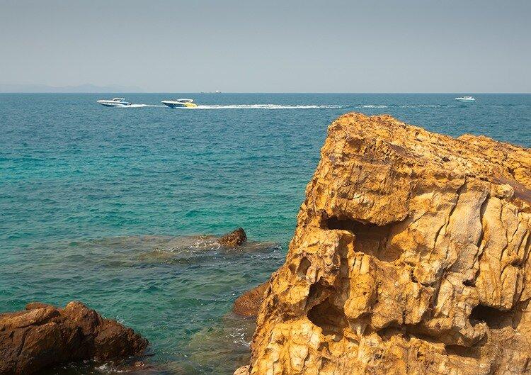 Отдых в Тайланде. Остров Ко Лан. Скоростные лодки
