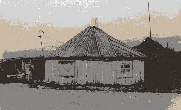 Круглый дом, или Домики Свиньина