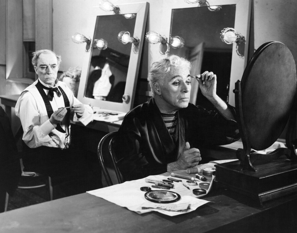 Charlie Chaplin and Buster Keaton