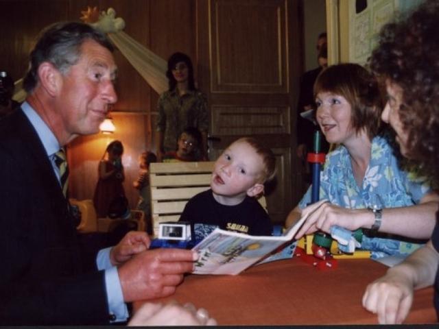 Иван Бакаидов с принцем Чарльзом