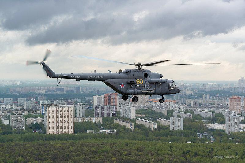 Миль Ми-8МТВ-5 (RF-91183 / 80 желтый) ВКС России D802891