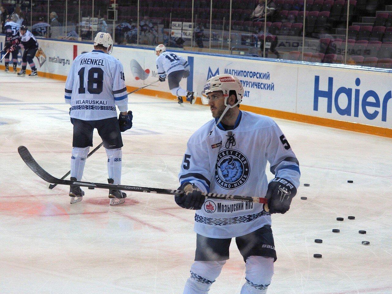 23Металлург - Динамо Минск 13.09.2016