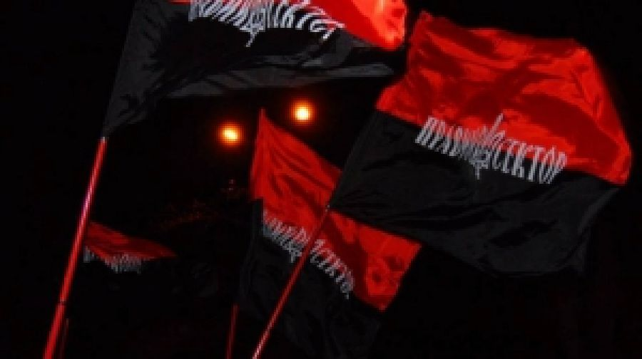 Красно-черный флаг борьбы